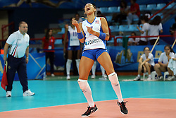 Puerto Rico Enright Stephanie celebrates