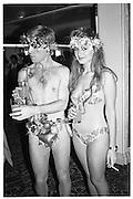 Marina Killery and Rory Faber, Piers Gaveston Ball, Park Lane Hotel 13.05.83© Copyright Photograph by Dafydd Jones 66 Stockwell Park Rd. London SW9 0DA Tel 020 7733 0108 www.dafjones.com