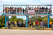 Sunday races at Mayabe, Holguin, Cuba.