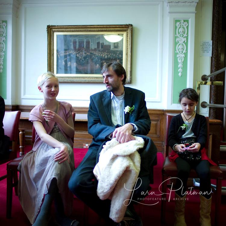 Luke and Irina's wedding