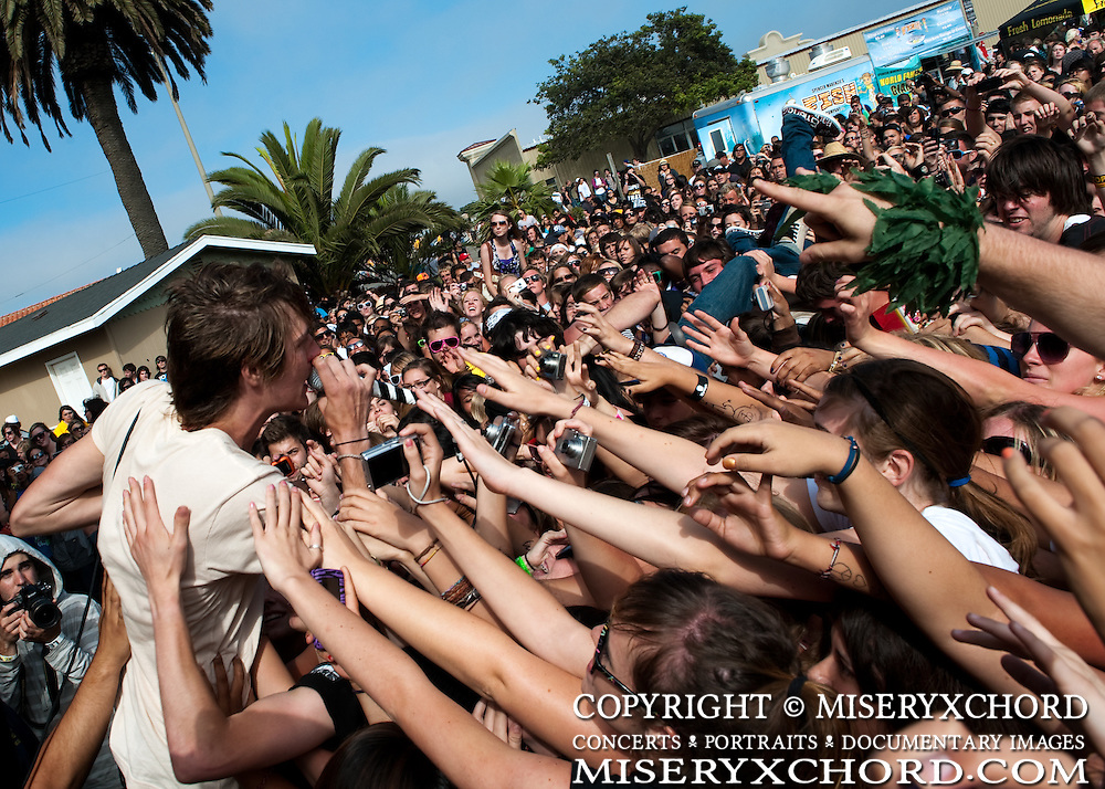 The Maine performing at Warped Tour 2009 in Ventura, California USA on June 28, 2009.