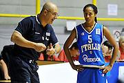 CAGLIARI 20 AGOSTO 2011<br /> CAMPIONATI EUROPEI U 16<br /> ITALIA BELGIO<br /> NELLA FOTO NANI<br /> FOTO CIAMILLO