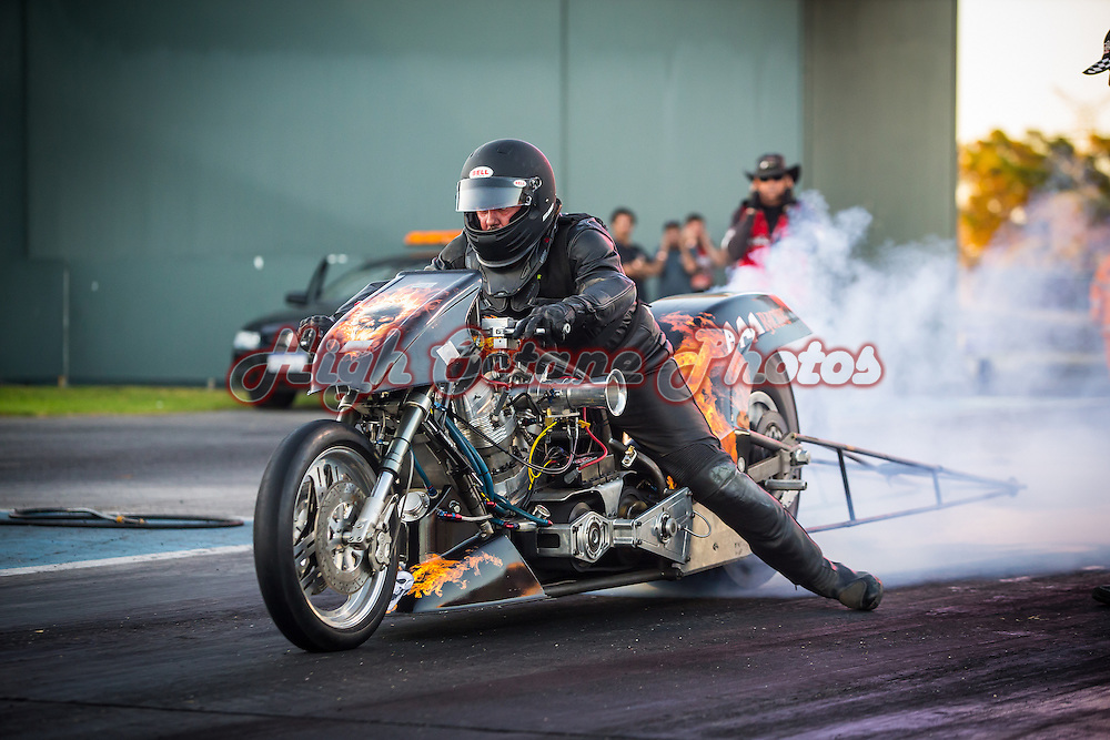 Danny Makin - 1168 - AAA Racing - Nitro Harley - Top Bike Exhibition (TFM/T)