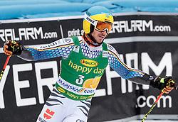 04.03.2017, Podkoren, Kranjska Gora, SLO, FIS Weltcup Ski Alpin, Kranjska Gora, Riesenslalom, Herren, 2. Lauf, im Bild Felix Neureuther (GER) // Felix Neureuther of Germany reacts after his 2nd run of men's Giant Slalom of FIS ski alpine world cup at the Podkoren in Kranjska Gora, Slovenia on 2017/03/04. EXPA Pictures © 2017, PhotoCredit: EXPA/ Johann Groder