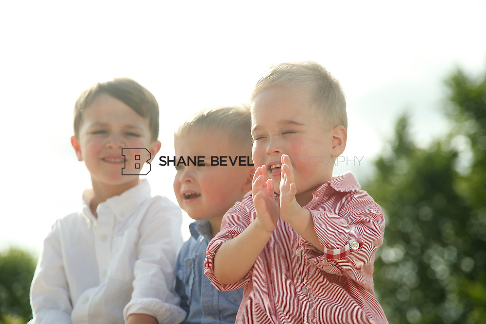 5/28/15 5:40:46 PM -- Miracle Miles and his family pose for portraits and play at the QuikTrip park for the 2015 Saint Francis Health System advertising campaign. <br /> <br /> Photo by Shane Bevel