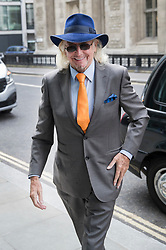 © Licensed to London News Pictures. 03/07/2017. London, UK. Blackpool FC majority shareholder Owen Oyston arrives at the High Court. Mr Oyston is in a legal dispute relating to funds from Blackpool Football Club during it's time in the Premiere League . Photo credit: Peter Macdiarmid/LNP