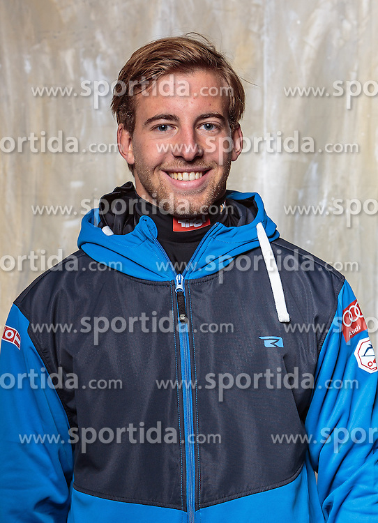 08.10.2016, Olympia Eisstadion, Innsbruck, AUT, OeSV Einkleidung Winterkollektion, Portraits 2016, im Bild Paul Klein, Feestyle // during the Outfitting of the Ski Austria Winter Collection and official Portrait Photoshooting at the Olympia Eisstadion in Innsbruck, Austria on 2016/10/08. EXPA Pictures © 2016, PhotoCredit: EXPA/ JFK