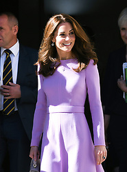 Kate The Duchess of Cambridge attend the first Global Ministerial Mental Health Summit at County Hall, London The summit is being co-hosted by the UK Government and the OECD. Photo credit should read: Doug Peters/EMPICS