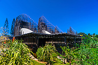 Tjibaou Cultural Center (by architect Renzo Piano), Noumea, Grand Terre, New Caledonia