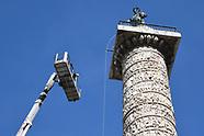 20190306 - Lavori di Manutenzione parafumine Colonna di Piazza Colonna