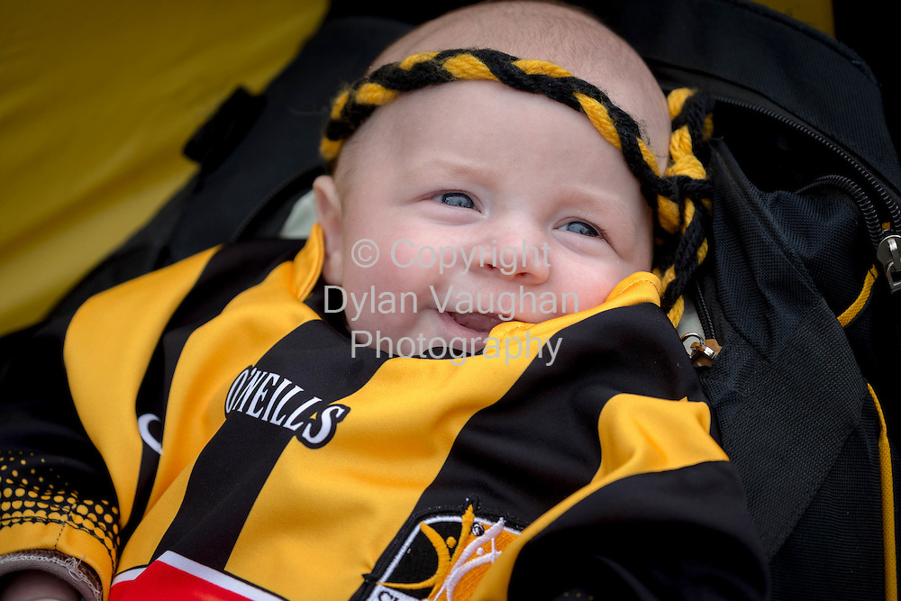 03-9-15<br /> <br /> Charlie Duggan Kerwick aged 11 weeks pictured ahead of this weekends All Ireland Senior Hurling Final between Kilkenny and Galway.<br /> Picture Dylan Vaughan.
