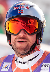 15.03.2018, Aare, SWE, FIS Weltcup Ski Alpin, Finale, Aare, SuperG, Herren, im Bild Aksel Lund Svindal (NOR, Super G Weltcup 3. Platz und 3. Platz Tageswertung SuperG) // Super G World Cup 3rd placed and today Super G third placed Aksel Lund Svindal of Norway reacts after his run of men's SuperG of FIS Ski Alpine World Cup finals in Aare, Sweden on 2018/03/15. EXPA Pictures © 2018, PhotoCredit: EXPA/ Johann Groder
