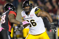 2017 CFL: 27 Oct Tiger-Cats at Redblacks