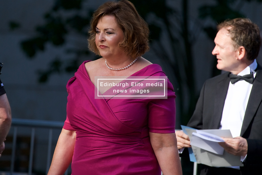 Fiona Hyslop attending a charity event Organised by The Hunter Foundation. Former US president Barack Obama will address business leaders and take part in a Q&A at the Edinburgh International Conference Centre. 26th May 2017, (c) Brian Anderson | Edinburgh Elite media