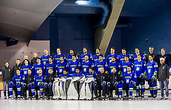Official photo session of Team Slovenia at the 2017 IIHF Men's World Championship, on May 11, 2017 in AccorHotels Arena in Paris, France. Photo by Vid Ponikvar / Sportida