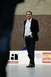 19-01-2013 VOLLEYBAL: EREDIVISIE PRINS VCV - TILBURG STV : VEENENDAAL<br /> Ivo Martinovic, coach Prins VCV<br /> &copy;2012-FotoHoogendoorn.nl / Pim Waslander