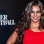NLD/Amsterdam/20141115 - Life After Football fair 2014, Laura Ponticorvo