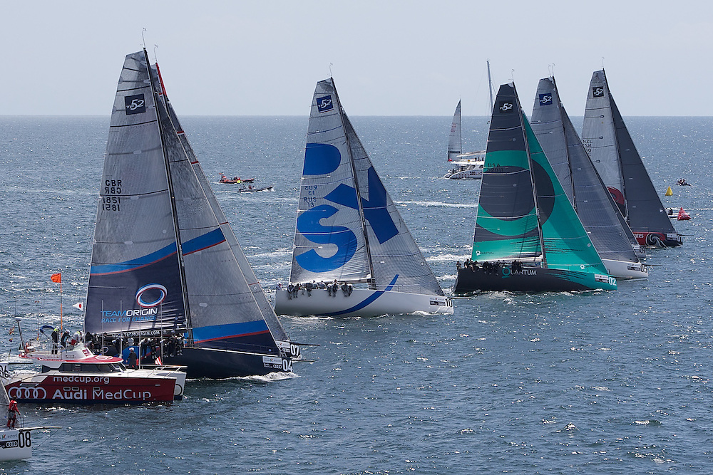 PORTUGAL, Cascais, AUDI MedCup, 13th May 2010,  Portugal Trophy, Start.