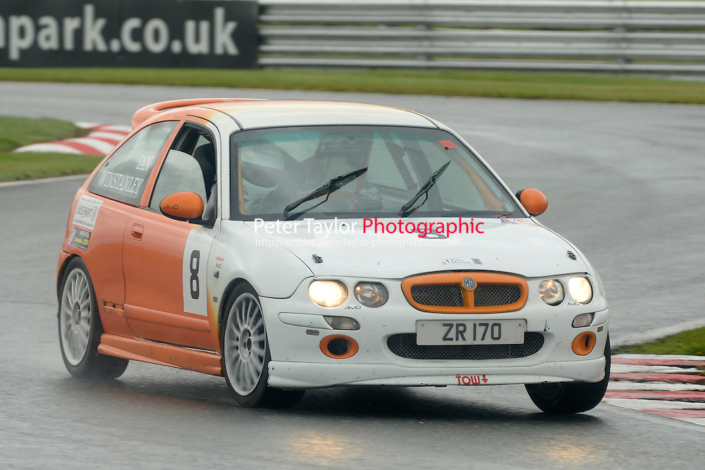 #8 Ian Winstanley MG ZR 170 during the MGCC Cockshoot Cup at Oulton Park, Little Budworth, Cheshire, United Kingdom. September 03 2016. World Copyright Peter Taylor/PSP.