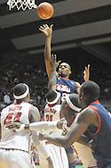 Ole Miss vs. Alabama in Tuscaloosa, Ala.. on Saturday, February 12, 2011. Alabama won.