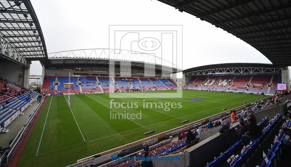 A General View before the Autumn International Series match at the DW Stadium, Wigan<br /> Picture by Richard Land/Focus Images Ltd +44 7713 507003<br /> 14/11/2015