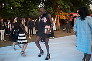 JENNY BASTET, Serpentine's Summer party co-hosted with Christopher Kane. 15th Serpentine Pavilion designed by Spanish architects Selgascano. Kensington Gardens. London. 2 July 2015.