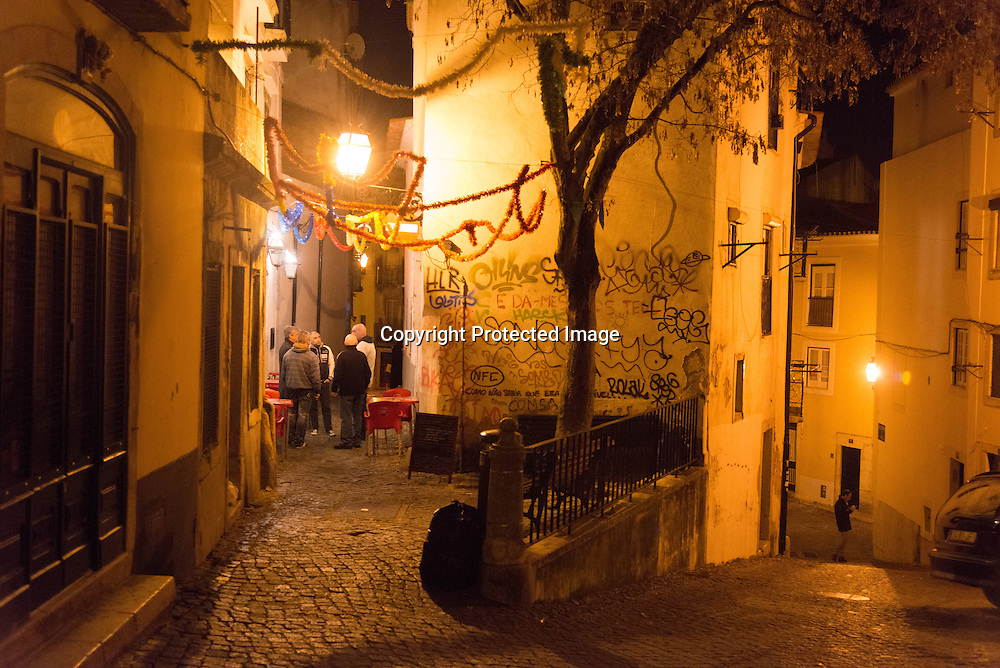 Portugal. Lisbon. Alfama district