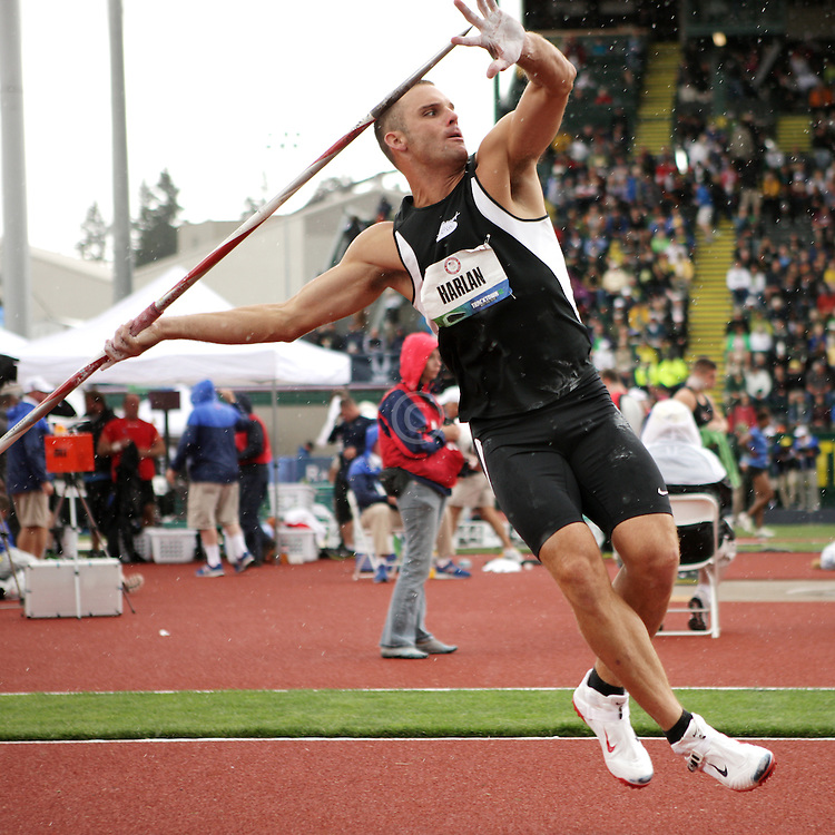 Olympic Trials Eugene 2012: Decathlon, Javelin, Ryan Harlan