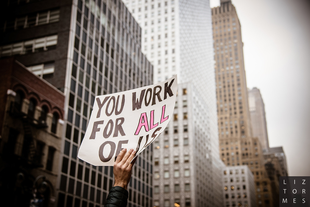 Women's March, New York City, January 21, 2017