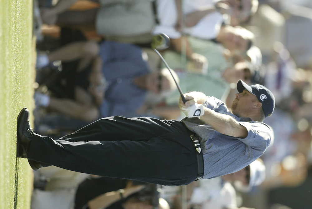 John Rollins..2003 Phoenix Open.TPC at Scottsdale, Scottsdale, AZ..January  25, 2003..Photograph by Darren Carroll..X67646
