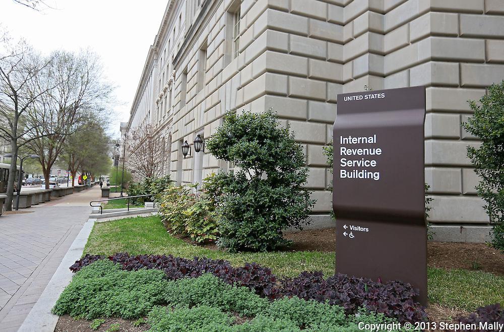 The Internal Revenue Service (IRS) in Washington, DC on Monday, April 15, 2013.