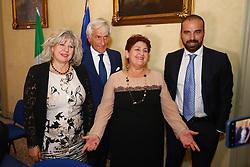 DA SX SIMONA CASELLI PAOLO BRUNI TERESSA BELLANOVA E LUIGI MARATTIN<br /> MINISTRO TERESA BELLANOVA IN PREFETTURA A FERRARA