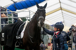 Fry Charlotte, GBR, Dark Legend<br /> Jumping Mechelen 2019<br /> © Hippo Foto - Sharon Vandeput<br /> 29/12/19