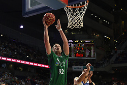 May 31, 2017 - Madrid, Madrid, Spain - Alem Omic, #92 of Unicaja de Málaga in action during the first game of the semifinals of basketball Endesa league between Real Madrid and Unicaja de Málaga. (Credit Image: © Jorge Sanz/Pacific Press via ZUMA Wire)