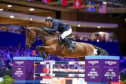 Von Eckermann Henrik, SWE, Mary Lou 194<br /> LONGINES FEI Jumping World Cup™ - Lyon 2019<br /> © Hippo Foto - Julien Counet<br /> 03/11/2019