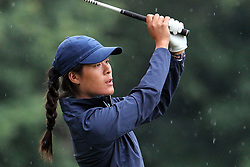 June 16, 2018 - Belmont, Michigan, United States - Celine Boutier of Montrouge, France hits from the 5th tee during the third round of the Meijer LPGA Classic golf tournament at Blythefield Country Club in Belmont, MI, USA  Saturday, June 16, 2018. (Credit Image: © Amy Lemus/NurPhoto via ZUMA Press)