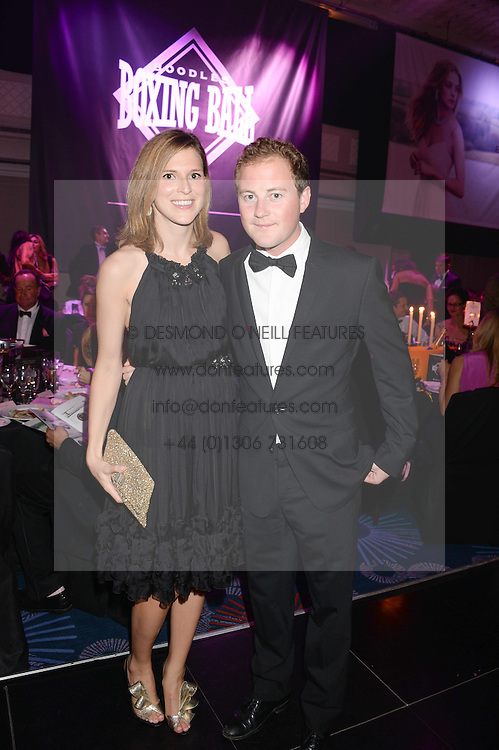 British fine jewellery brand Boodles welcomed guests for the 2013 Boodles Boxing Ball in aid of Starlight Children's Foundation held at the Grosvenor House Hotel, Park Lane, London on 21st September 2013.<br /> Picture Shows:- GUY PELLY and ELIZABETH WILSON.<br /> <br /> Press release - https://www.dropbox.com/s/a3pygc5img14bxk/BBB_2013_press_release.pdf<br /> <br /> For Quotes  on the event call James Amos on 07747 615 003 or email jamesamos@boodles.com. For all other press enquiries please contact luciaroberts@boodles.com (0788 038 3003)