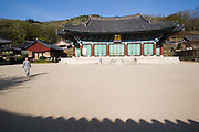 Songgwangsa temple. The main hall.