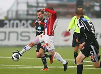 Fotball<br /> Tippeliga 2011<br /> Tromsø - Odd 25.04.2011<br /> Hans Åge Yndestad, Tromsø<br /> Magnus Lekven, Odd<br /> Torjus Hansén, Odd<br /> <br /> Foto: Tom Benjaminsen, Digitalsport
