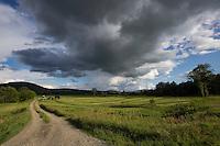 Farmland along Connecticut River, Maidstone, Vermont