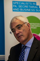 Better Together leader Alistair Darling visited Smart PA to mark the referendum countdown.  9 June 2014 (c) GER HARLEY | StockPix.eu