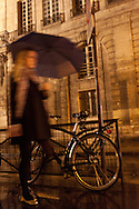 rue des francs bourgeois Paris , le marais , under the rain at night  /// paris sous la pluie, le marais  la nuit