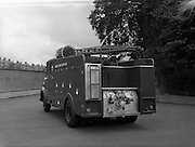 25/05/1962<br /> 05/25/1962<br /> 25 May 1962<br /> Vehicles at Lincoln and Nolan. Image shows an Austin fire engine.