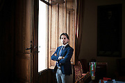 27 Febbraio 2015, Reggio Calabria, Italia. Giuseppe Falcomatà, 31 anni, Sindaco di Reggio Calabria.