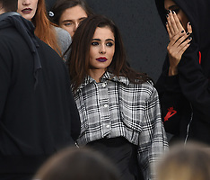 Cheryl Cole is seen walking the L'Oreal fashion show - 30 Sep 2017