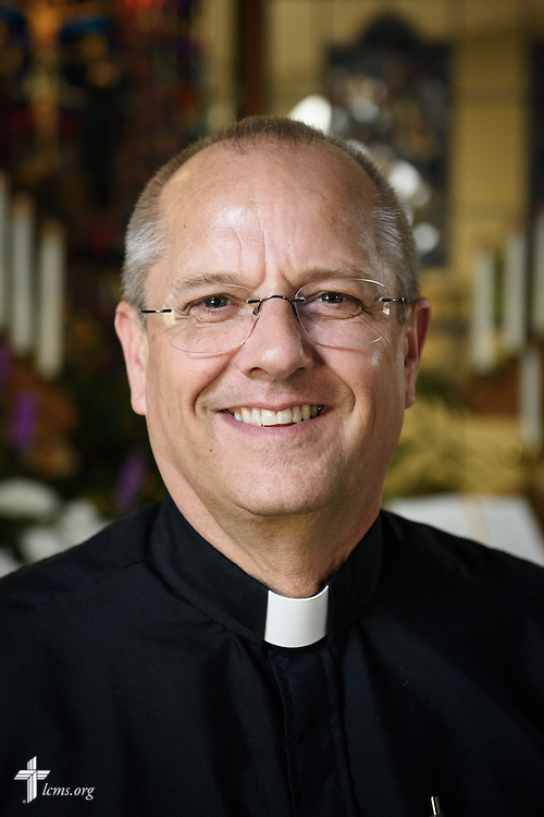 Headshot portrait of the Rev. Wally Arp, senior pastor at St. Luke's Lutheran Church on Monday, March 7, 2016, in Oviedo, Fla. LCMS Communications/Erik M. Lunsford