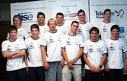 at press conference of Kayak and Canoe Federation of Slovenia before European Championships Tacen 2005, on June 17, 2005, Ljubljana, Slovenia. (Photo by Vid Ponikvar / Sportida)