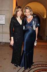 Left to right, the HON.MRS DAVID WINDSOR-CLIVE and LEONIE FRIEDA at a fundraising gala to celebrate 150 years of The National Portrait Gallery, at the NPG, St.Martin's Place, London on 28th February 2006.<br />