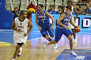 ALICANTE 03 SETTEMBRE 2007<br /> BASKET EUROPEI<br /> ITALIA-FRANCIA <br /> NELLA FOTO MORDENTE<br /> FOTO CIAMILLO-CASTORIA