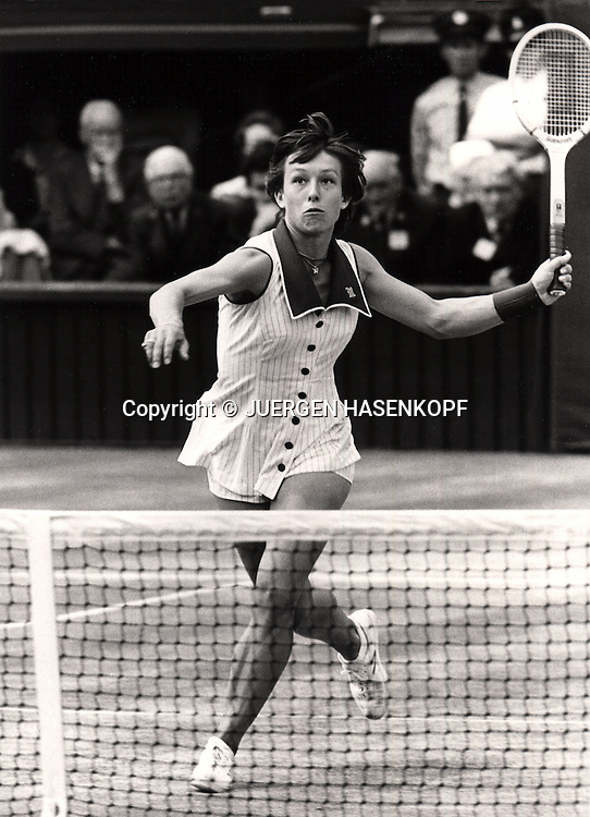 Martina Navratilova<br /> <br /> Tennis - Wimbledon  - Grand Slam ITF / ATP / WTA -  AELTC - London -  - Great Britain  -